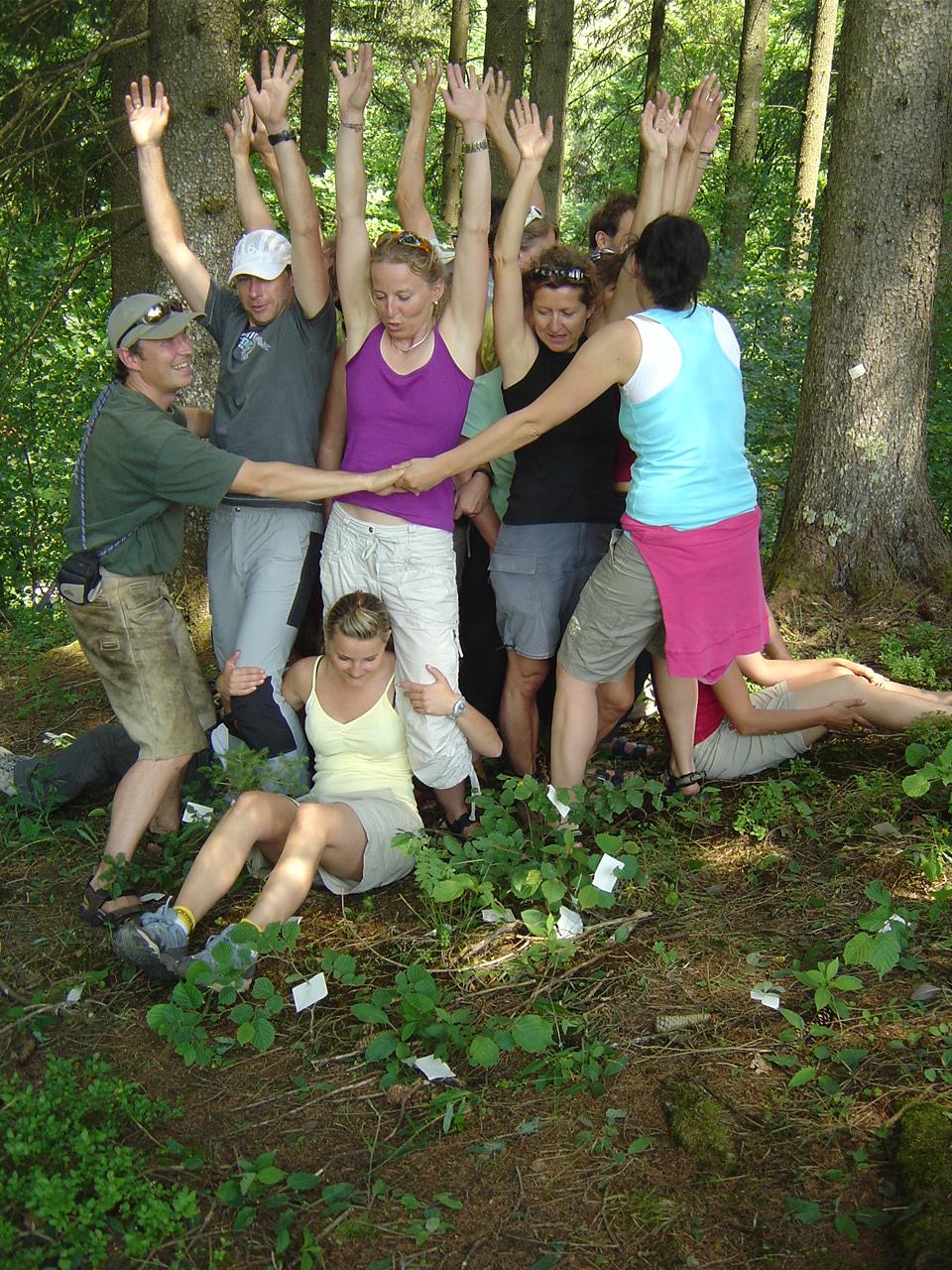 Gruppenübung kennenlernen